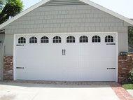 White Sherwood Garage Door Window Inserts Garage Doors