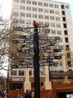signs in Portland, Oregon
