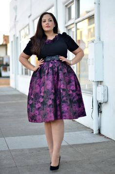 Girl With Curves: maternity outfit Looks Plus Size, Look Plus, Curvy Plus Size, Plus Size Women, Curvy Girl Fashion, Plus Size Fashion, Plus Size Dresses, Plus Size Outfits, Moda Feminina Plus Size