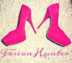 I love my #pink shoes #high heels #fashion fb: fashion hunter