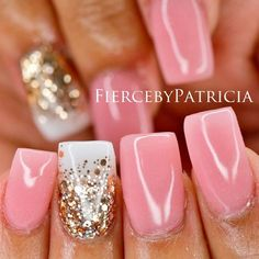 Pink nails are so pleasing to the eye and its not only our daily charm over 50 designs for perfect pink nails prinsesfo Choice Image