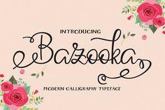 Bazooka from FontBundles.net