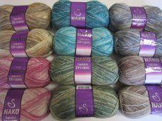 Nakolen dreams Crochet Hook Sizes, Crochet Hooks, Needles Sizes, Textures Patterns, Color Change, Wool, Knitting, Dreams, How To Make