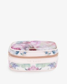 Pure peony jewellery case - Dusky Pink | Gifts for Her | Ted Baker UK