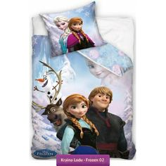 Bedding set Frozen with characters from Disney Frozen movie: Elsa, Anna, Kritoff, Swen and Olaf Frozen Bedding, Disney Bedding, Frozen Movie, Disney Frozen, Disney Disney, 100 Cotton Duvet Covers, Duvet Cover Sets, Anna Kristoff, Elsa Anna