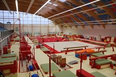Gymnova training centre!