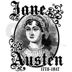 Jane Austen Rectangle Magnet on CafePress.com
