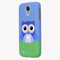 Love it! This Blue Owl Monogram University Galaxy S4 Cases is completely customizable and ready to be personalized or purchased as is. It's a perfect gift for you or your friends.