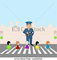 Pedestrian crossing- Cruce de peatones
