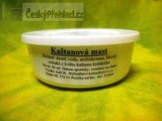 Recepty na kaštanovou mast Garden Pots, Dog Bowls, Herbs, Health, How To Make, Handmade, Fitness, Salud, Hand Made