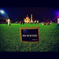 One of our favourite Earth Hour Instagram shots, from Brunei