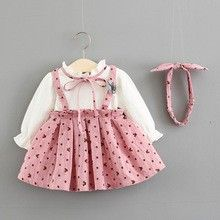 Wholesale New Autumn Girl Dresses Princess Skirt Sending Hoop from Our website with high quality and fast shipping worldwide. Baby Girl White Dress, Baby Girl Dresses, Pink Dress, Flower Girl Dresses, Simple Dresses, Summer Dresses, Types Of Skirts, Girl Falling, Pink Polka Dots