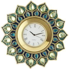 Peacock Gem Clock$25.00 Pier 1 imports