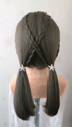 Amazing braided hair tutorial amazing by myhairstyle_xo Easy Hairstyles For Long Hair, Braided Hairstyles, Everyday Hairstyles, Hairstyle Short, Creative Hairstyles, Beautiful Hairstyles, Natural Hairstyles, Medium Hair Styles, Short Hair Styles