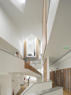 Arquitectura del Campus Universidad Adolfo Ibañez ::: José Cruz Ovalle y Asociados