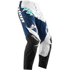 Thor Motocross Womens Phase Tilt Pants - Navy Jade
