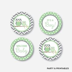 Green Owl Cupcake... http://partyandprintables.com/products/green-owl-cupcake-toppers-non-personalized-instant-download-sbs-48?utm_campaign=social_autopilot&utm_source=pin&utm_medium=pin #partyprintables #birthdayinvitation #partysupplies #partydecor #kidsbirthday #babyshower