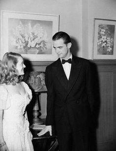 Bette Davis with Howard Hughes
