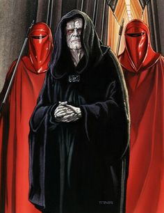 Emperor Palpatine of the First Galactic Empire