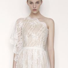 Lover the Label off the shoulder lace gown