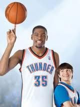 On August 24, 2012, Kevin Durant is going to be on the big screen!!! Thunderstruck <3 cannot wait.