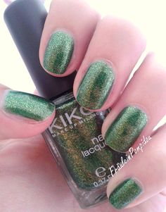 NOTD: Kiko - Pearly Golden Green