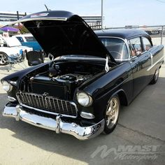 Checkout this #MastMotorsports powered #1955 Chevy at the #goodguys show at Texas Motor Speedway!  #lsxnation #lseverything #lsnation #bestoftheday #photooftheday #carshow @pro_touring_garage @gapracing by mastmotorsports