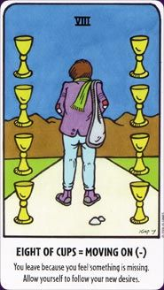 Example card from the Tell-Me Tarot deck. DISCOVER MORE: http://www.tarotacademy.org/tell-me-tarot/