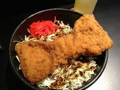 Ribbon 豚カツ丼 @ AKB48 Cafe