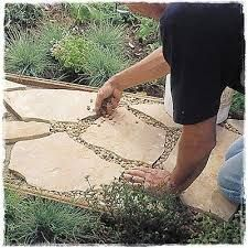 Image result for flagstone patio dry set