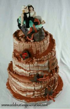 Tremors wedding cake