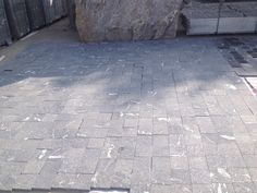 Snow Grey Granite Flamed Paver Wholesale
