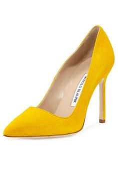 best service 36399 18ae5 20 fashionable heels that will give any outfit a style boost. Manolo  Blahnik BB Suede