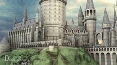 TEST - Hogwarts Castle 3D model - טירת הוגוורטס בתלת מימד - בדיקה ...