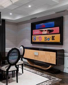 #Ganzes Haus Interiors Moderne Neoklassische Interieurs Gemischt Mit  Zeitgenössischen Von Britto Charette #dekoration #