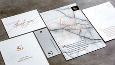 modern unique wedding invitations, watercolor, botanical and bright wedding invites, black white pink marble, gold
