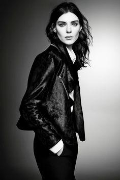 Kati Nescher for Giorgio Armani's 'New Normal' Fall 2015 campaign by Sølve Sun