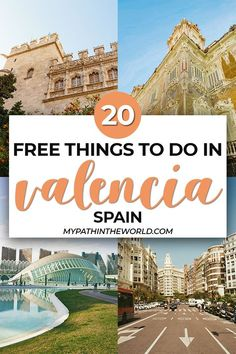 Looking for budget travel tips for the city of Valencia? Check out these 20 amazing free things to do in Valencia, Spain that you have to add to your itinerary!