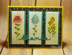 Flowering Fields by marmie43gs - Cards and Paper Crafts at Splitcoaststampers