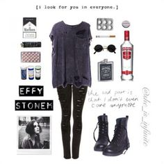 effy stonem outfits tumblr - Google Search