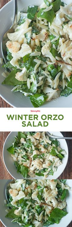 Salads are not just for summer! - Winter Orzo Salad
