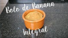 Bolo de Caneca de Banana Integral | Receita