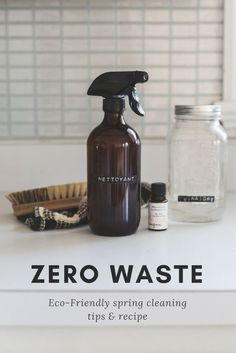 Zero waste & Eco-Friendly spring cleaning Here are a few tips and tricks that are not only safe for the environment but for yourself as well.