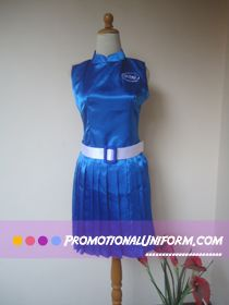 Intel Processor , one of our Promotional Uniform and Sales Promotion Girl Client , they customized this uniform for an Computer and Gadget event in 2013