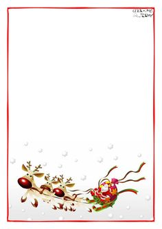 letter to santa claus blank paper template sleigh background 4 Christmas Letter Template, Santa Template, Santa Letter Printable, Free Printable, Christmas Note, Christmas Labels, Christmas Paper, Christmas Letterhead, Christmas Stationery