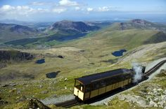 Today's #photo of the day is of the #Snowdon #Mountain #Railway in #Wales by Kosala Bandara.