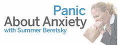 Panic About Anxiety ... she writes with humor about a serious subject .. and I went to college with her!