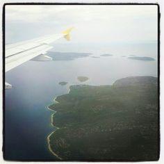 Llegando a Croacia para iniciar en Split el viaje expedicion Itacadventure 2014.