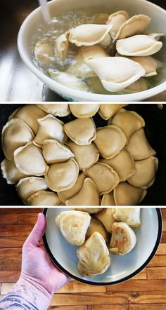 The best way to cook frozen pierogies. Learn how to cook frozen pierogies so that they turn out perfect every single time. Lithuanian Recipes, Ukrainian Recipes, Ukrainian Food, German Recipes, No Dairy Recipes, Cooking Recipes, Pasta Recipes, Yummy Recipes, Vegetarian Recipes