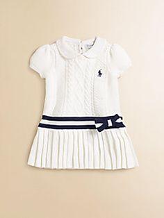 Ralph Lauren Cricket Pleated dress for girls